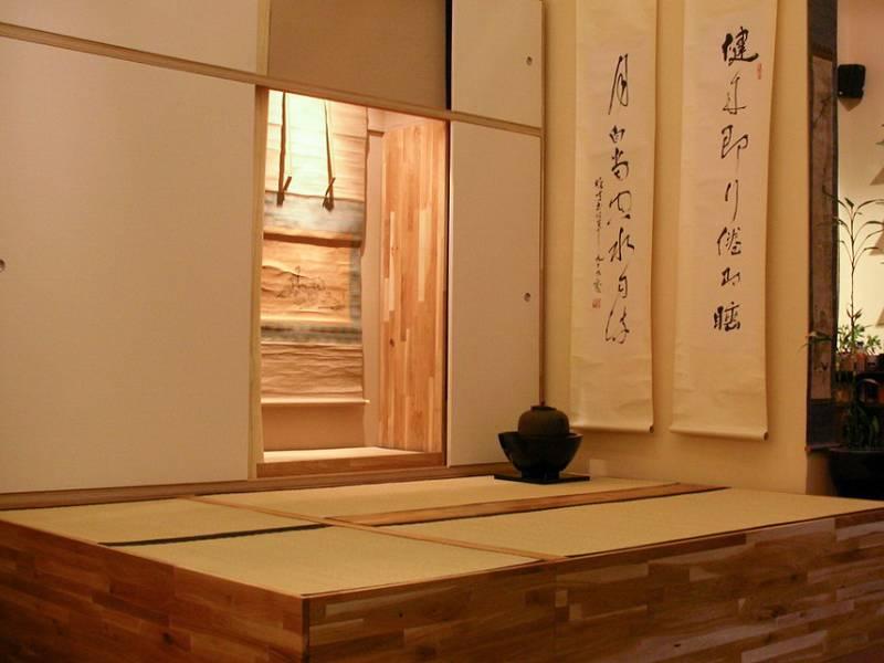 japanischer-teeraum-kalligraphie